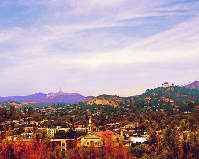 Photograph - The View From Olive Hill by Timothy Bulone