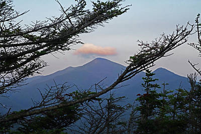Photograph - The View From Phelps Mountain At Sunrise Adirondacks North Elba by Toby McGuire