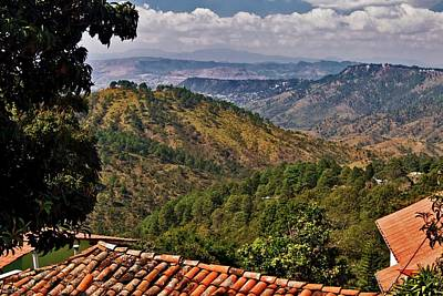 Photograph - The View From Santa Lucia's Mountain Top by Hany J