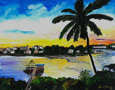 Painting - The View From Tamerind by Katie Sasser