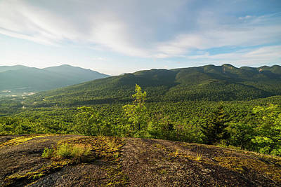 Photograph - The View From The Brothers Trail Big Slide Mountain Keene Valley New York by Toby McGuire