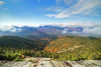 Photograph - The View From The Giant Mountain Summit Keene Valley Ny Adirondacks by Toby McGuire