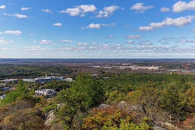 Photograph - The View From The Summit Of Great Blue Hill by Brian MacLean
