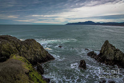 Photograph - The View From Yaquina Head by Jon Burch Photography