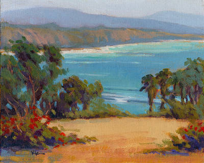 Painting - The View / Dana Point by Konnie Kim