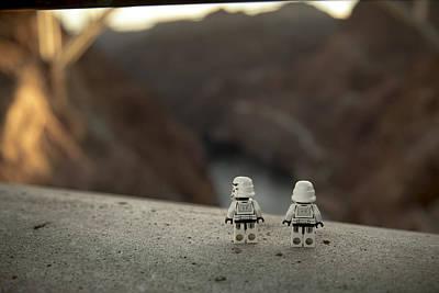 Lego Star Wars Digital Art - The View by Matt Ferris