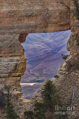 Photograph - The  View Through The Angels'  Window by Robert Bales