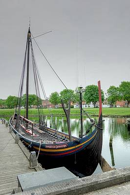 Photograph - The Viking Ship by Karen McKenzie McAdoo