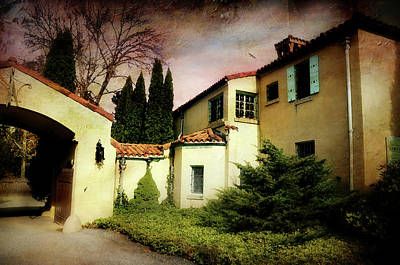 Photograph - The Villa by Diana Angstadt