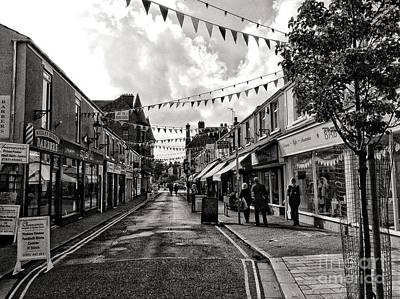 Photograph - The Village In The Town In Monochrome by Joan-Violet Stretch