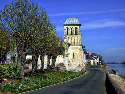 Photograph - The Village Of Le Thoureil by Anthony Dezenzio