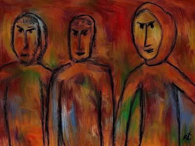 The Village People Art Print by Rafi Talby
