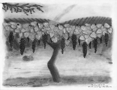 The Vine And The Branches Art Print