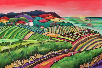 Painting - The Vineyard by Patti Schermerhorn