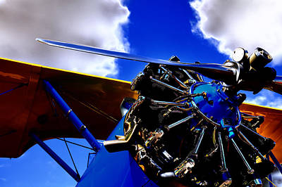 Photograph - The Vintage 1940 Stearman Pt-18 by David Patterson