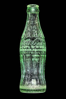 The Vintage Coke Bottle Art Print by JC Findley