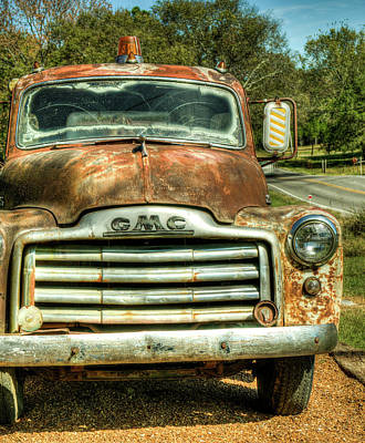 Photograph - The Vintage Gmc Rescue Squad by Douglas Barnett