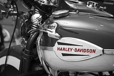 Harley Davidson Photograph - The Vintage Harley by Mark Rogan