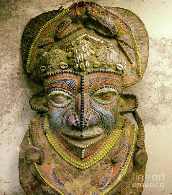 The Vintage Of African Art  Art Print by Steven Digman