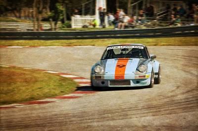 The Vintage Porsche Art Print