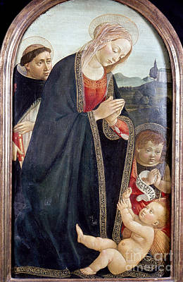 Photograph - The Virgin And Child by Granger