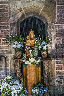 Christian Sacred Photograph - The Virgin And Child  by Ian Mitchell