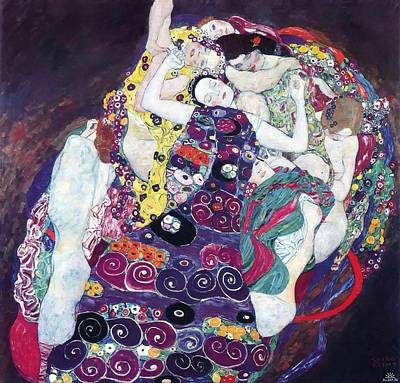 Pretty Quilts Painting - The Virgin by Mountain Dreams