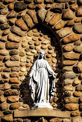 Photograph - The Virgin Mother by Onyonet  Photo Studios