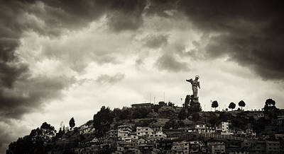 Photograph - The Virgin Of Quito by Cameron Wood