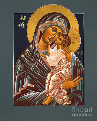 Painting - The Virgin Of Tenderness Of Yaroslavl 025 by William Hart McNichols