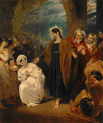 Harlow Painting - The Virtue Of Faith by George Henry Harlow