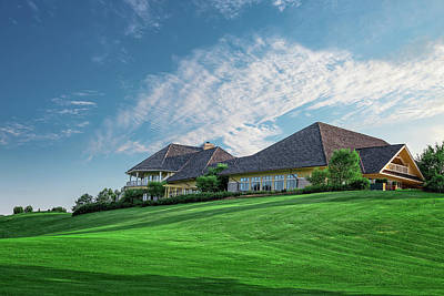 Structure Photograph - The Virtues Golf Course Clubhouse by Tom Mc Nemar