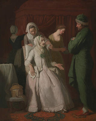 Painting - The Virtuous Comforted By Sympathy by Edward Penny