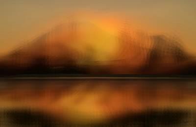 Digital Art - The Vision Far Off by rd Erickson