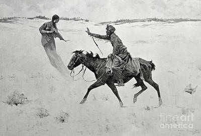 Hallucinations Painting - The Vision by Frederic Remington