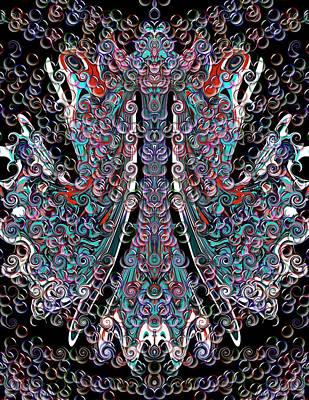 Digital Art - The Visit by Subbora Jackson