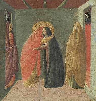 Borghese Painting - The Visitation by Borghese Di Piero Borghese