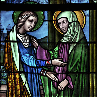 Glass Art - The Visitation  by Photographer Vassil
