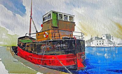 The Vital Spark Original by Peter Tarrant