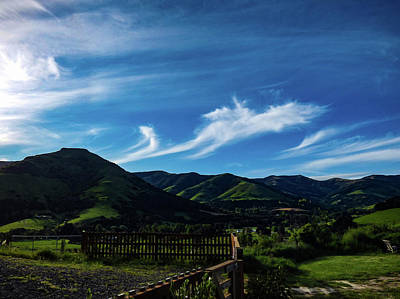 Photograph - The Volcanic Hills by Steve Taylor