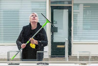 Photograph - The Volunteer by Michel Verhoef