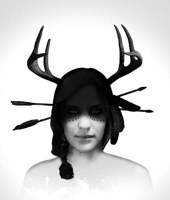 Antlers Photograph - The Volva by Nicklas Gustafsson