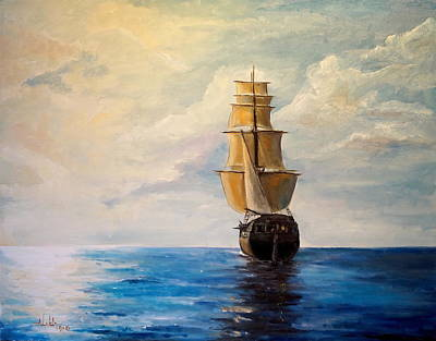 Painting - The Voyage by Alan Lakin