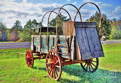 Photograph - The Wagon by Savannah Gibbs