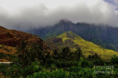 Photograph - The Wai'anae Range by Craig Wood