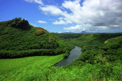 Photograph - The Wailua River by Eric Wiles