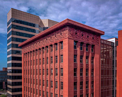 Photograph - The Wainwright Building St. Louis Mo by Greg Kluempers