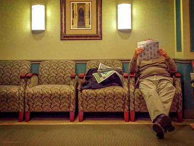 Photograph - The Waiting Game by LeeAnn McLaneGoetz McLaneGoetzStudioLLCcom