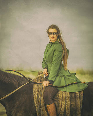 Photograph - The Waiting Warrior by Fast Horse Photography