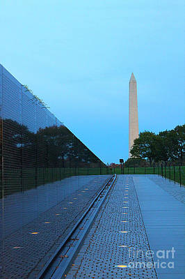 Vietnam Veterans Memorial Wall Photograph - The Wall by Brian Governale